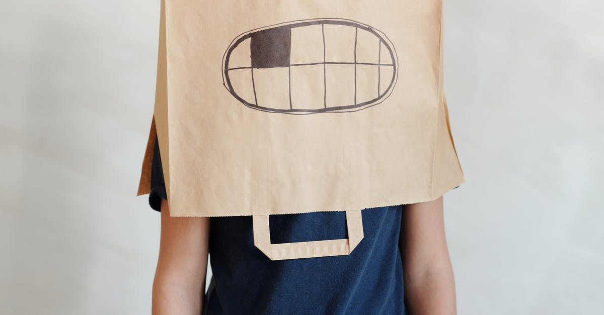 A person wearing a costume